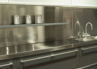 Stainless Steel Countertops - Raleigh, NC