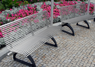 Stainless Steel Benches -Raleigh, NC